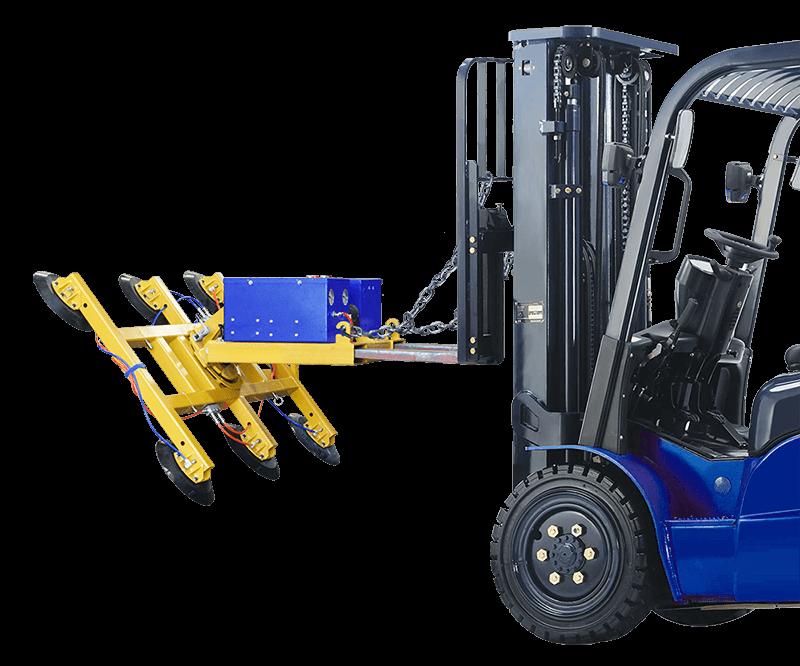 Glassboy Forklift 400 zamontowany