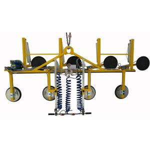 Vacuum lifter for insulating glass